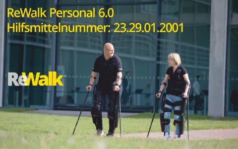 ReWalk Personal 6.0 - Hilfsmittelnummer