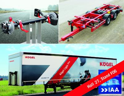 IAA Commercial Vehicles - Kögel shows a large number of innovations and continuing product developments