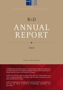 Cover R&D Report 2013