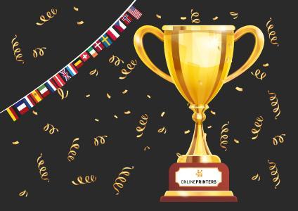 """In der Kategorie """"The Customer and Market Engagement Award (Umsatz > 150 Mio. Euro)"""" wurde diedruckerei.de zum National Winner bei den European Business Awards gewählt, Copyright: Onlineprinters GmbH"""
