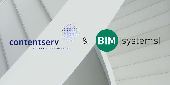 BIMsystems und Contentserv gehen strategische Entwicklungspartnerschaft ein