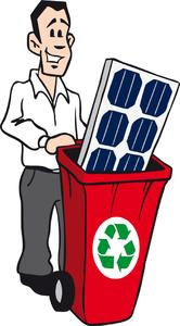 PV Recycling – WEEE does not require an industry-specific take-back system of the manufacturers