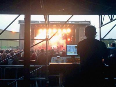 Stabile Systeme und satter Sound für Sommerfestivals
