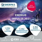 Grafik zu den Energie-Impulsen 2021 von SHERPA-X