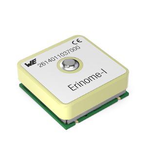 GNSS-Modul Erinome I (18 mm × 18 mm × 6,4 mm, mit Antenne) / Bild: Würth Elektronik