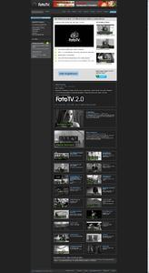 fototv homepage 2.0 screenshot