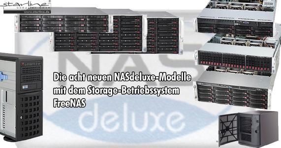 Die neuen FreeNAS-Modelle