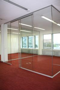 Glaswände für den MAN-Headquarter