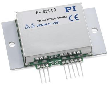 E-836: New Piezo Amplifier for Dynamic Piezo Actuator Operation