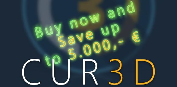 CUR3D Summer Sale