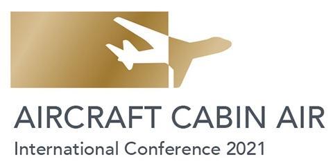 "Logo der ""Aircraft Cabin Air Conference 2021""."