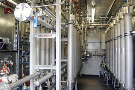 Nach Abschluss der Inbetriebnahmephase speist die Gasaufbereitungsanlage Zeven II mit MT-Membrantechnik nun in das örtliche Gasnetz ein