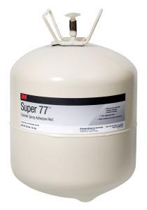 3M Super 77 als Sprühklebstoff im Druckgasbehälter: Das Multi-Talent für einfaches und mobiles Kleben
