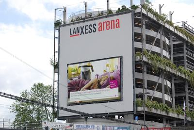 Outdoorscreen Lanxess Arena