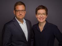 Birte Hackenjos und Harald Wagner führen künftig die Unternehmensgruppe
