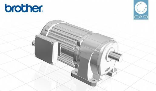 Brother Gearmotors präsentiert neuen Produktkatalog zum Download von 3D CAD Engineering Daten