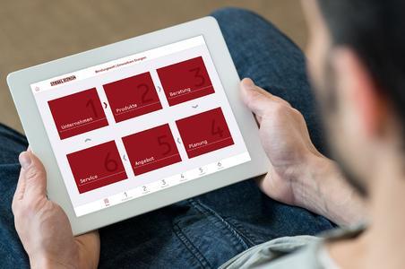 Digitale Unterstützung für Fachhandwerker im Beratungsgespräch