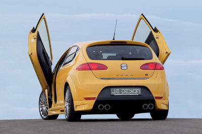 "Already fully tuned and styled: The new Seat Leon 1 P ""FR"" from JE DESIGN"