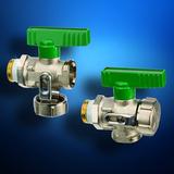 Neu für Trinkwasser - der neue DVGW-zertifizierte Simplex KFE-Kugelhahn als Durchgangs- und Eckversion