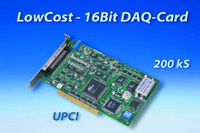 Neu. Low cost Digital/Analog Umsetzer-Karte (DAQ-Card)