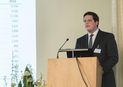 Thomas Ball, Senor Consultant bei Lünendonk & Hossenfelder, auf dem 1. Kongress Anlagenservice des FDBR