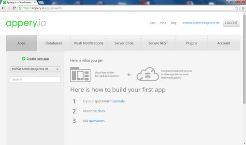 Entwicklungsumgebung im Browser