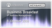Business Breakfast, 8. Oktober 2008