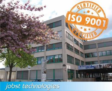 Jobst Technologies nach ISO-9001 zertifiziert