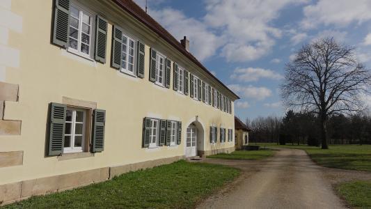 Unteres Schloss Tübingen (Kilchberg), Copyright: Compertus
