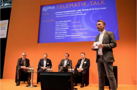 Der Telematik-Talk findet im Forum III der Halle A4 statt / Bild: Telematik-Markt.de