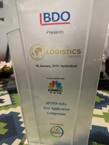 BITZER India won the Best Application Compressor award for the CSVH series