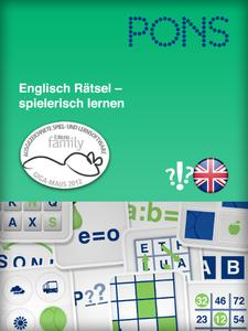 PONS-Sprachenrätsel Startscreen