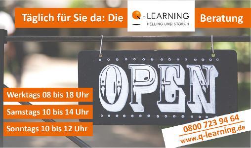 Q-LEARNING ist täglich für Sie da!