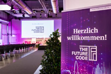 """""""The Future Code"""" wird 2020 als Digital-Event stattfinden und bietet Know-how, Innovationen, Inspiration sowie intensives Networking / Vogel Communications Group"""