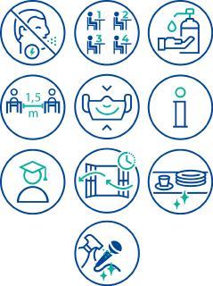 Hygienekonzept für Präsenz-Veranstaltungen veröffentlicht