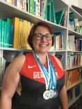 Brigitte Grotmann, schülerin der DAA Physiotherapieschule in Siegen