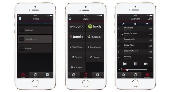 HEOS by Denon – HEOS App Screenshots