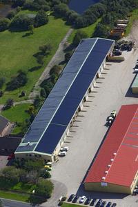 CIS-Photovoltaic plant with AVANCIS PowerMax® Modules. © AVANCIS
