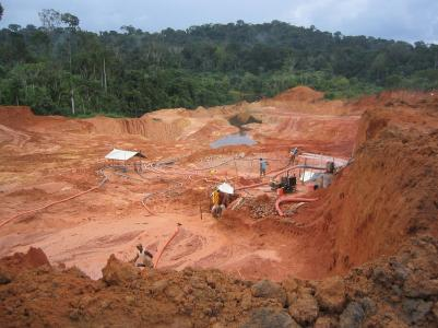 Gold Mining Field Operations