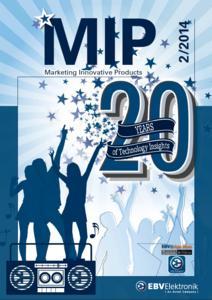 EBV Elektronik celebrates 20 years of its industry leading brochure MIP
