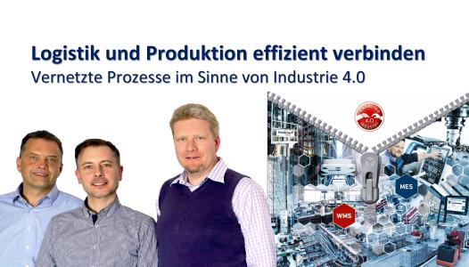 Referenten des ersten gemeinsamen Webinars (v.l.): Markus Müllerschön, Vice President Sales bei viastore SOFTWARE, Moderator Jan Christian Schwöbel, Senior Consultant bei Perfect Production und Markus Diesner, Product Marketing Manager Sales bei MPDV