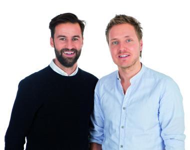 happybrush-Geschäftsführer Stefan Walter (l.) und Florian Kiener (r.)