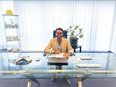 Serhat Yilmaz CMO of Blackstone Resources AG in Switzerland