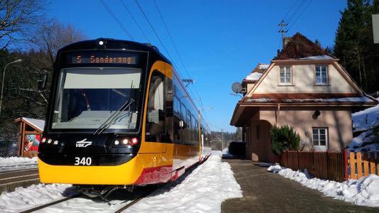 Weitere NET 2012-Stadtbahnen für Karlsruhe