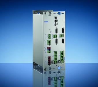 Der neue Mehrachswechselrichter MultiServo von AMK