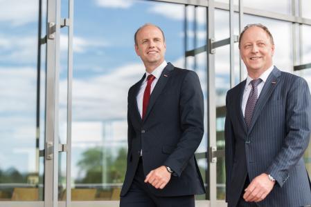 Geschäftsführer Andreas Nusko (links) und Firmeninhaber Gerhard Wach haben noch viel vor