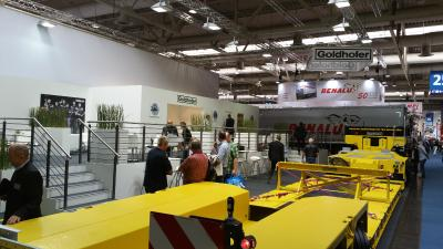 Goldhofer technology makes its mark at the 2016 IAA