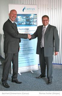 Technologie-Partnerschaft Canvys und Simpex