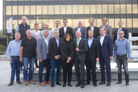 Die Projektpartner beim Kick-off am 11. September 2018 in Paderborn / Foto: Dr. Thim Strothmann, SICP
