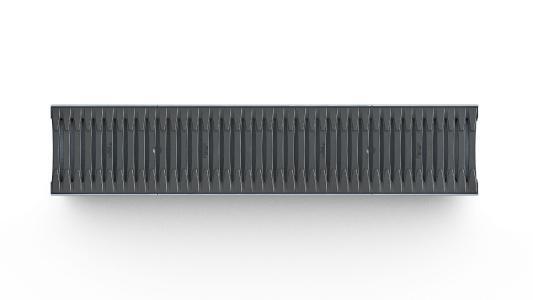 Neue Abdeckungsvariante für Nennweite 150 mm: Fibretec Design Stegrost belastbar bis zur Klasse C 250